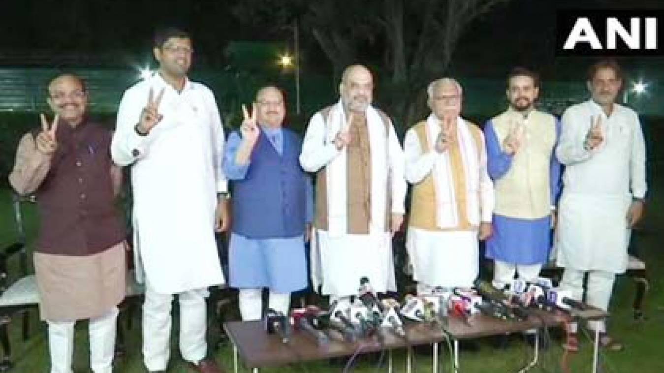 हरियाणा में बीजेपी- जेजेपी की सरकार, चौटाला की पार्टी को डिप्टी सीएम