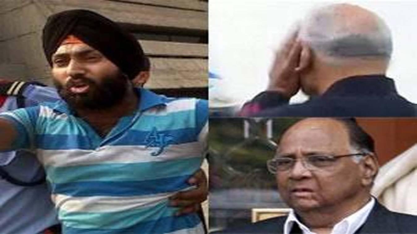 शरद पवार को 2011 में थप्पड़ मारने वाला शख्त गिरफ्तार,  देता रहा पुलिस को चकमा
