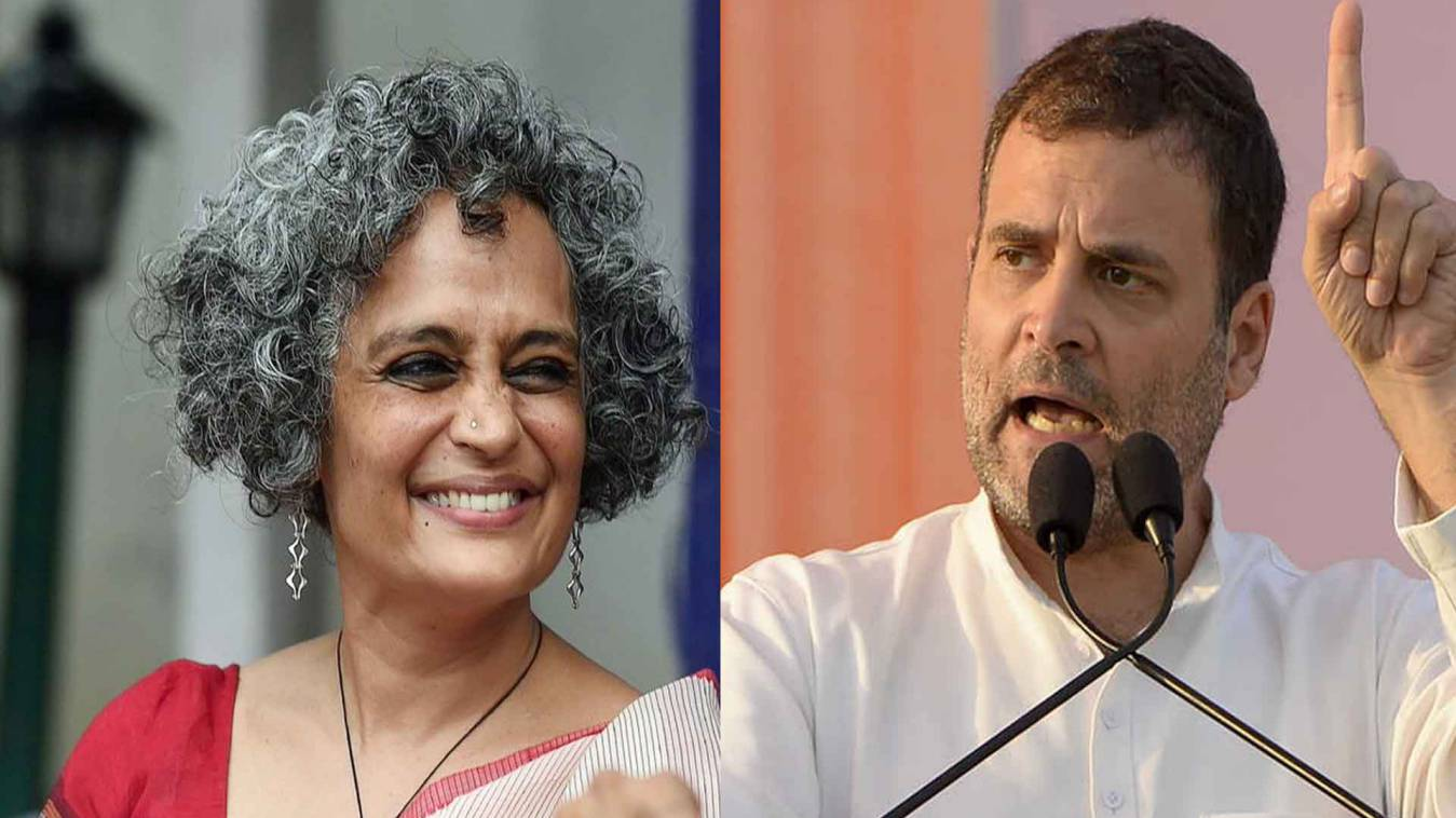 वाराणसी: अरुंधति राय के बयान पर मचा घमासान, राहुल गांधी पर भी मुकदमा दर्ज करने की मांग