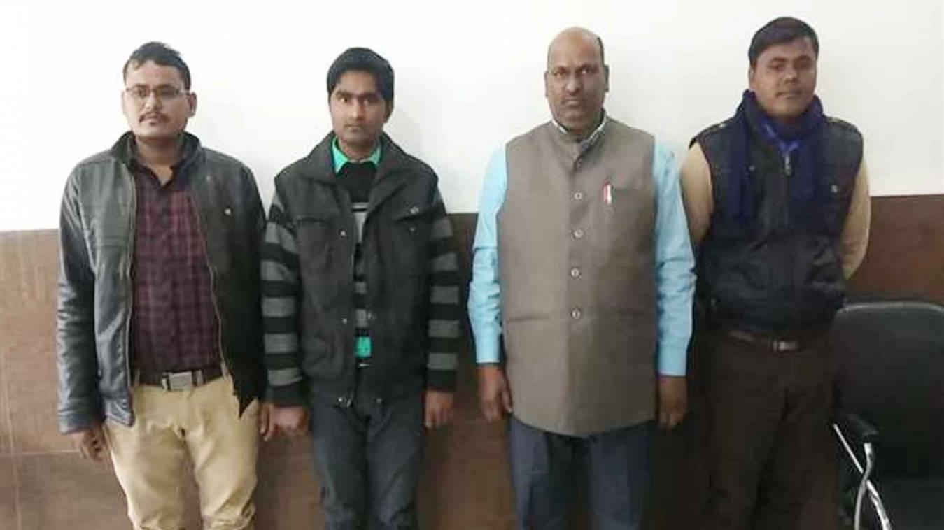 गाजीपुर में यूपीटीईटी पेपर लीक करने की कोशिश, वाराणसी STF ने मारा छापा, प्रिंसिपल सहित 5 गिरफ्तार
