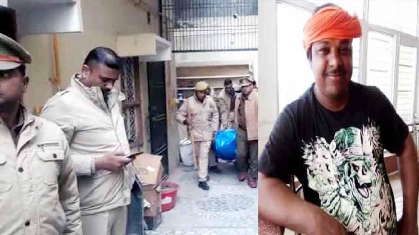 वाराणसी: गुरुधाम के लक्ष्मी निवास में मिली अधेड़ की लाश, परिजनों ने जताई हत्या की आशंका