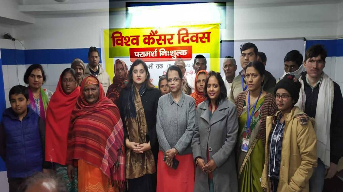 वाराणसी: पापुलर हास्पिटल में विश्व कैंसर दिवस पर मरीजों को किया गया जागरूक