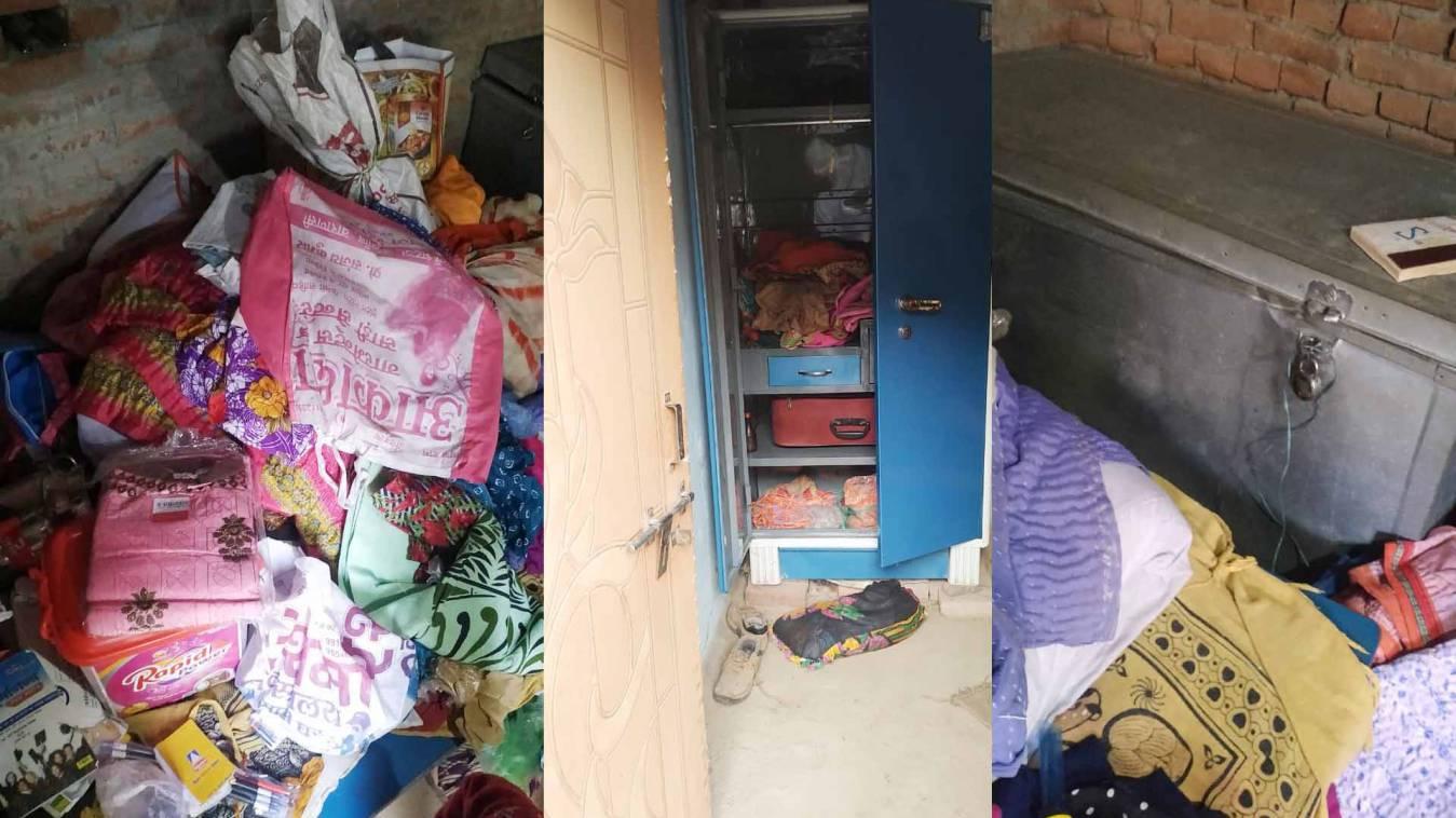 वाराणसी: बड़ागांव में लाखों के सामानपर चोरों ने किया हाथ साफ, पुलिस के हाथ खाली