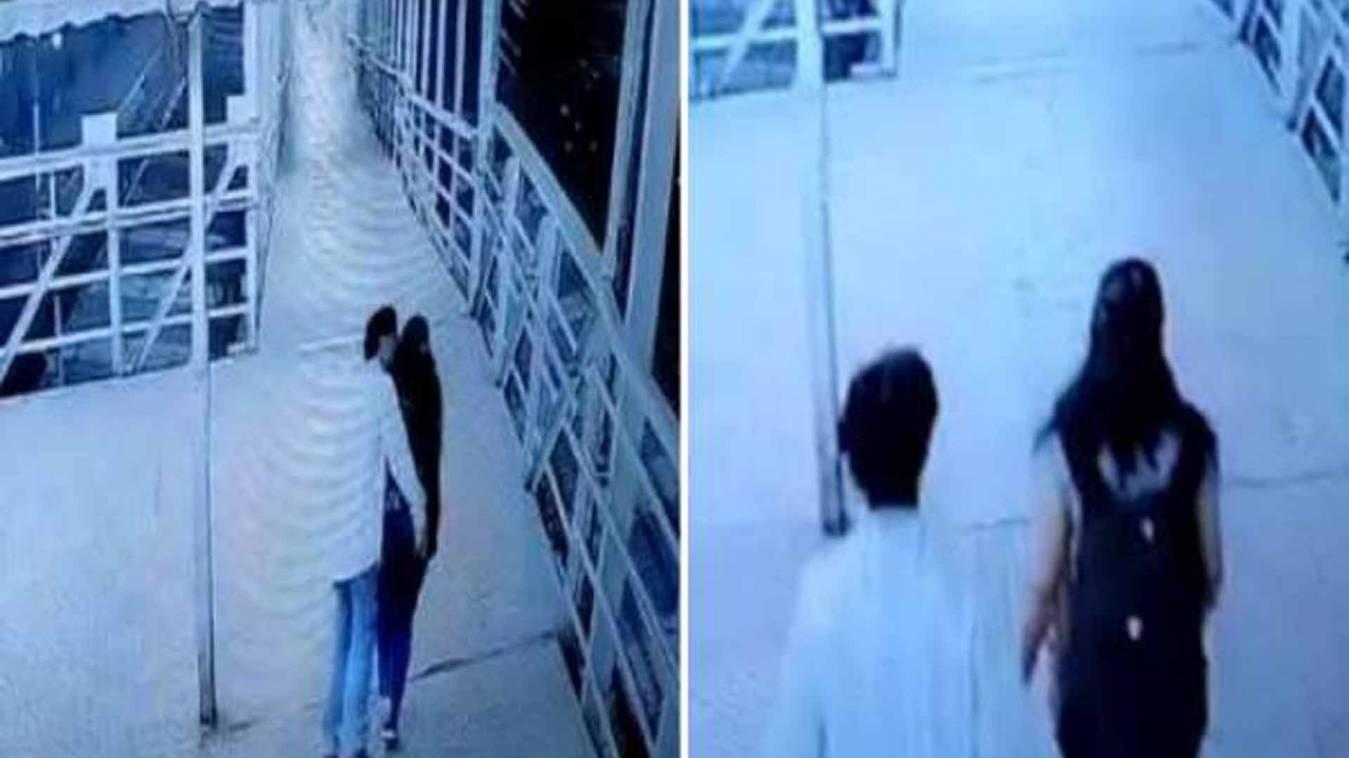 लड़कियों को जबरन किस करके भागने वाला शख्स गिरफ्तार, वीडियो देख पुलिस हैरान