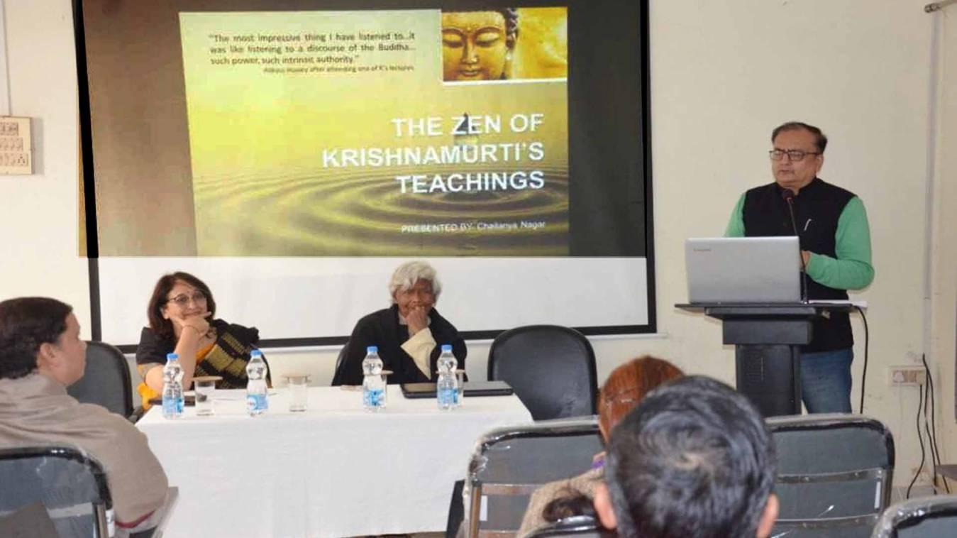वाराणसी: 'महात्मा गांधी की हत्या के जिम्मेदार हम और हमारा जाति-धर्म'