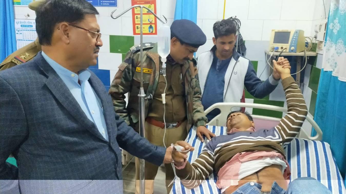 वाराणसी: एक लाख का इनामिया 'टुन्ना' मुठभेड़ में ढेर, एसटीएफ सिपाही गंभीर घायल