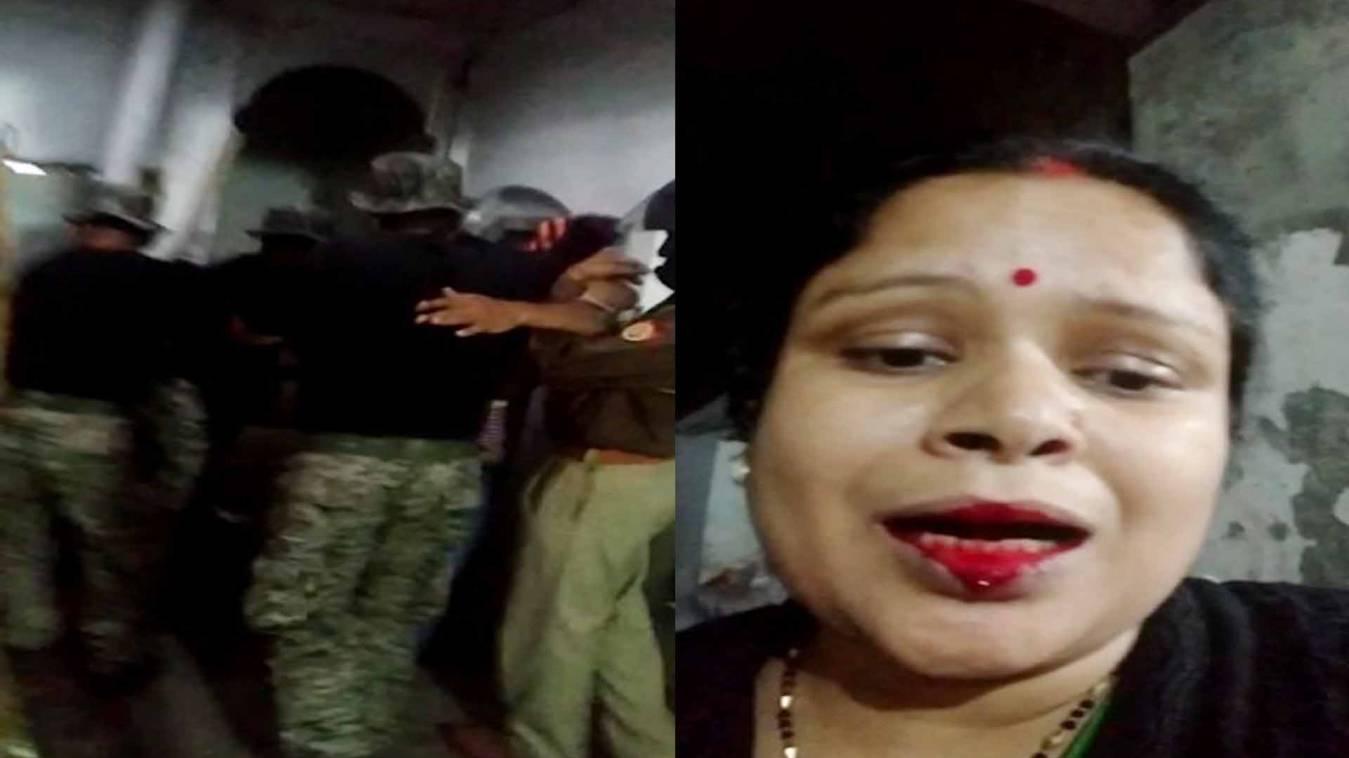 वाराणसी: अतिक्रमण हटाने गये निगम दस्ते नेघर में घुसकर फोड़ा महिला का मुंह, वीडियों वायरल!