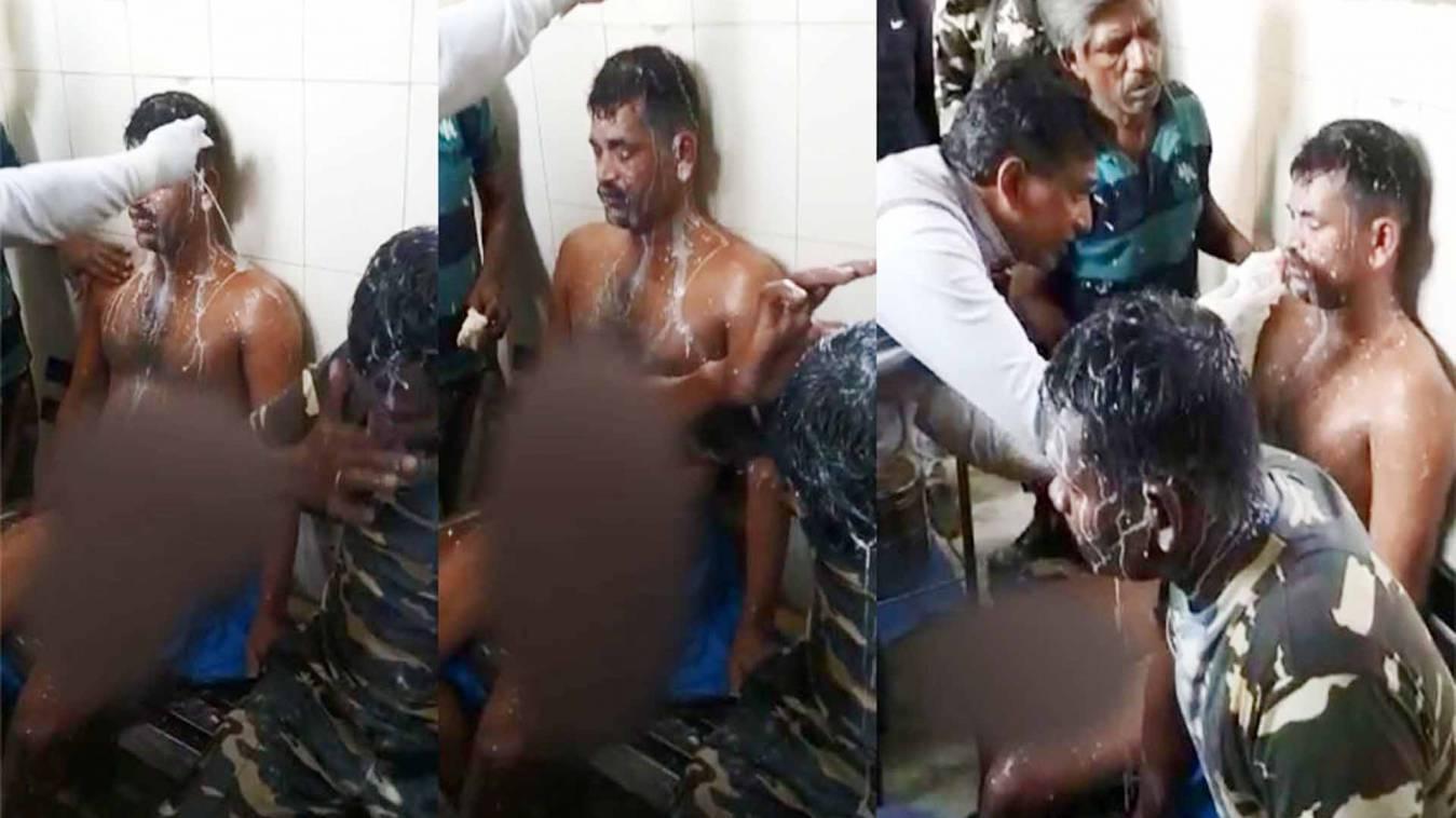 दिल्ली हिंसा: उपद्रवियों ने पैरामिलिट्री के जवानों पर फेंका तेजाब, कई घायल