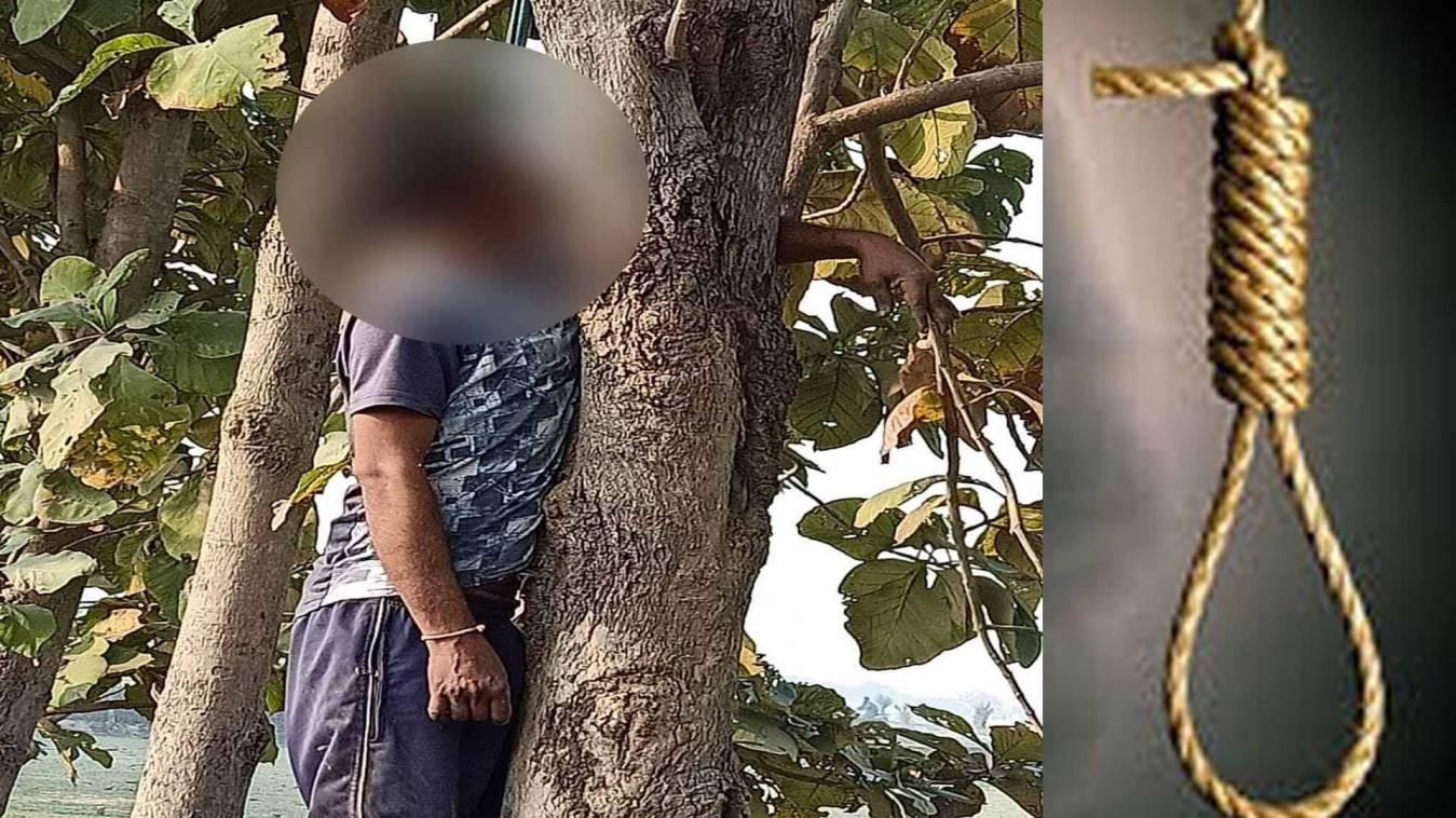 वाराणसी: संदिग्ध परिस्थितियों में पेड़ से लटकती मिली युवक की लाश, हत्या की आशंका