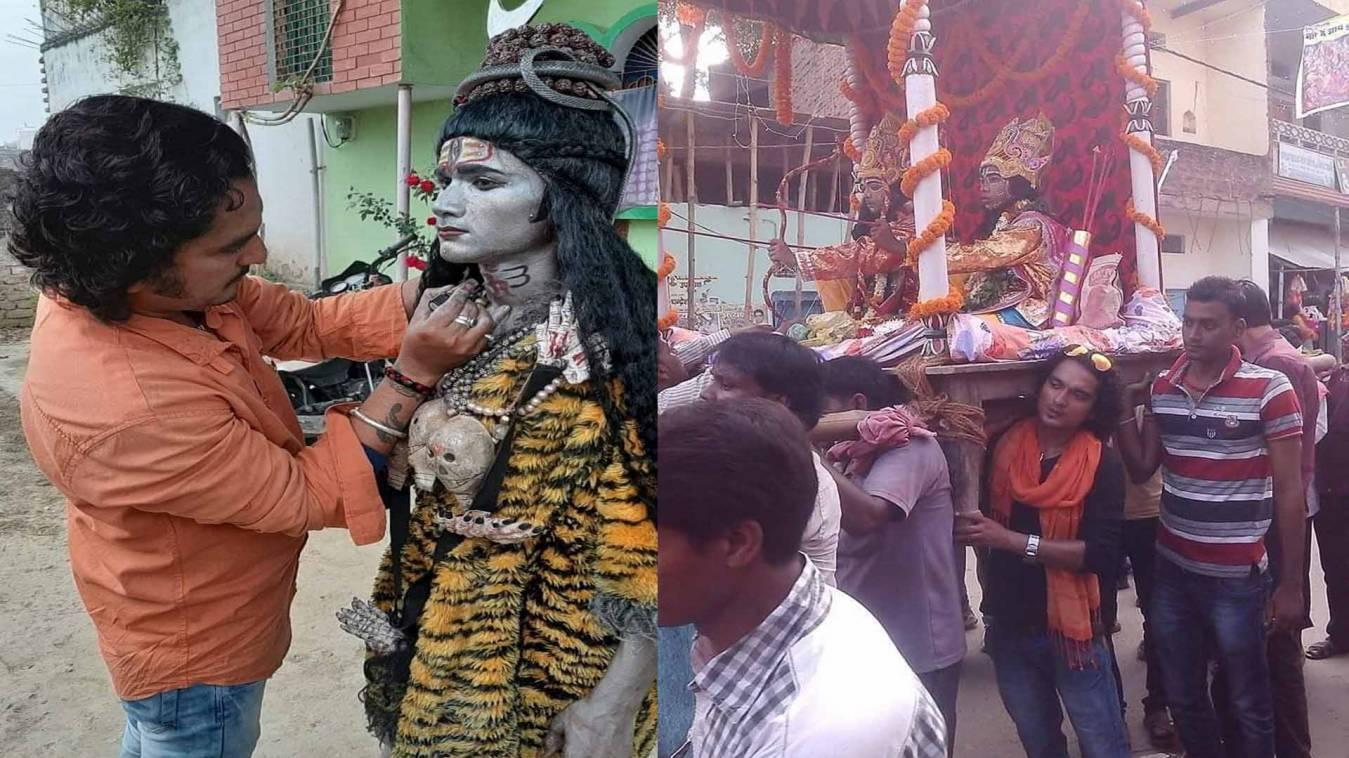 वाराणसी: शिव को सजाते हैं शैज खान फिर सारा के दर्शन पर क्यों मचा रहे घमासान?