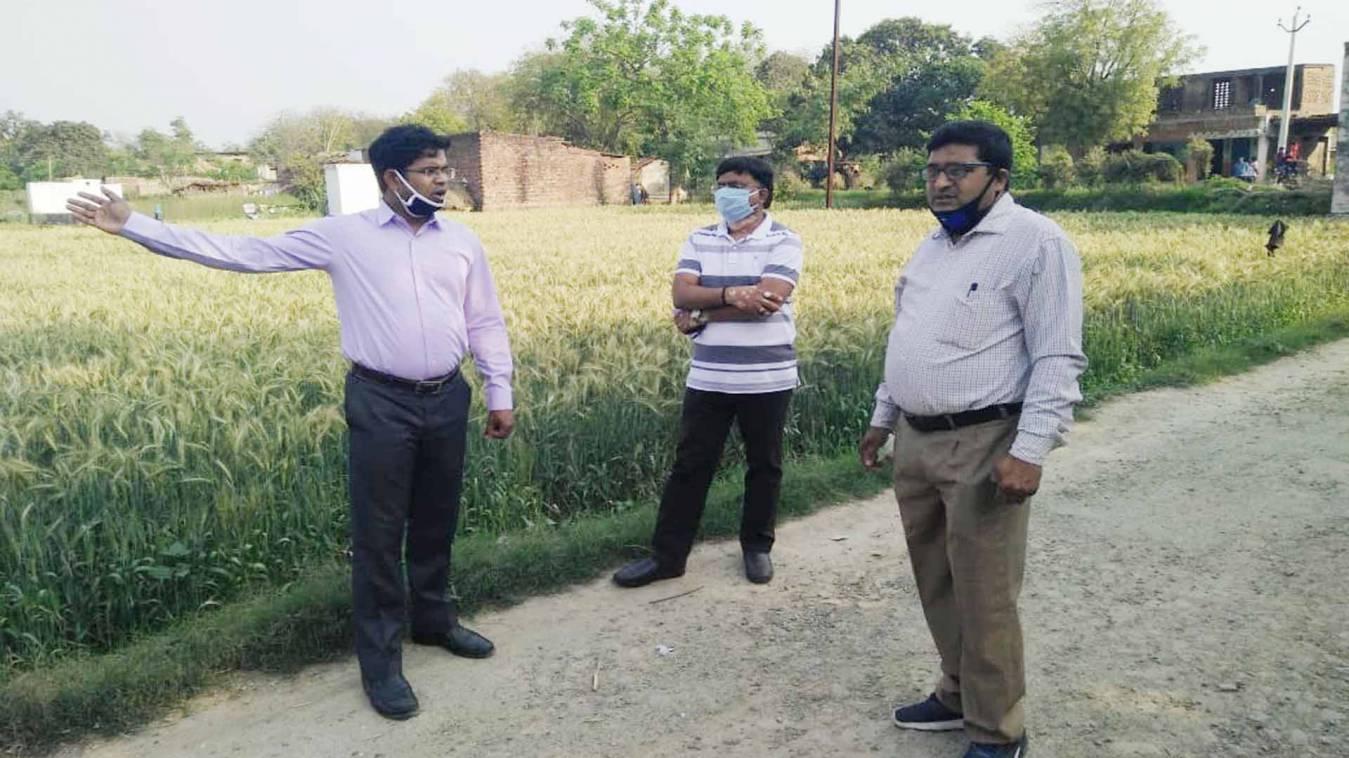 वाराणसी: नेहिया में कोरोना संक्रमित मिलने से सनसनी, तीन दिन पूर्व मुंबई से आया था झींगाटू पटेल