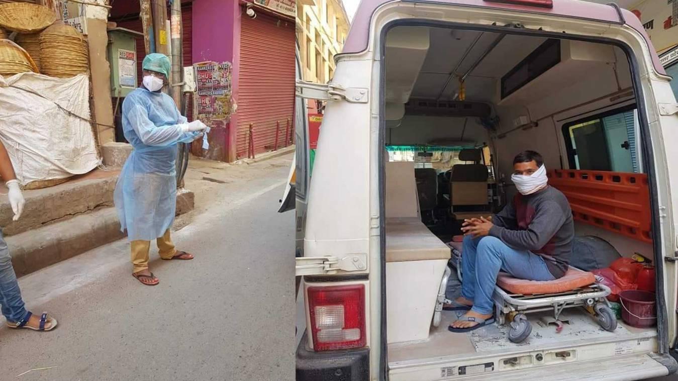 वाराणसी में कोरोना वायरस का एक और संदिग्ध मिलने से पक्के मोहल्ले में मचा हड़कंप