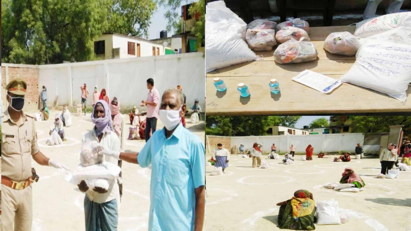 वाराणसी: समाजसेवी टग्गर ने चोलापुर ब्लाक के 70 गांवों में किया राशन वितरण