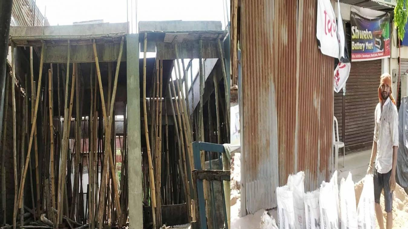 वाराणसी: वीडीए हो मेहरबान तो बिन नक्शे का मकान, 'उपाध्याय जी' के कहने पर हो रहा अवैध निर्माण
