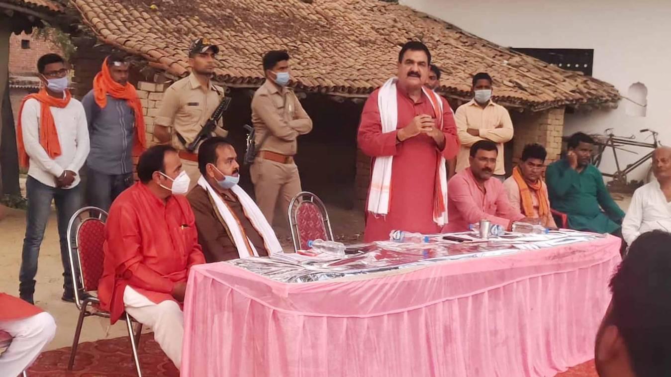 वाराणसी: संन्यासी ही होता है सबसे अच्छा शासक- विधायक डॉ अवधेश सिंह