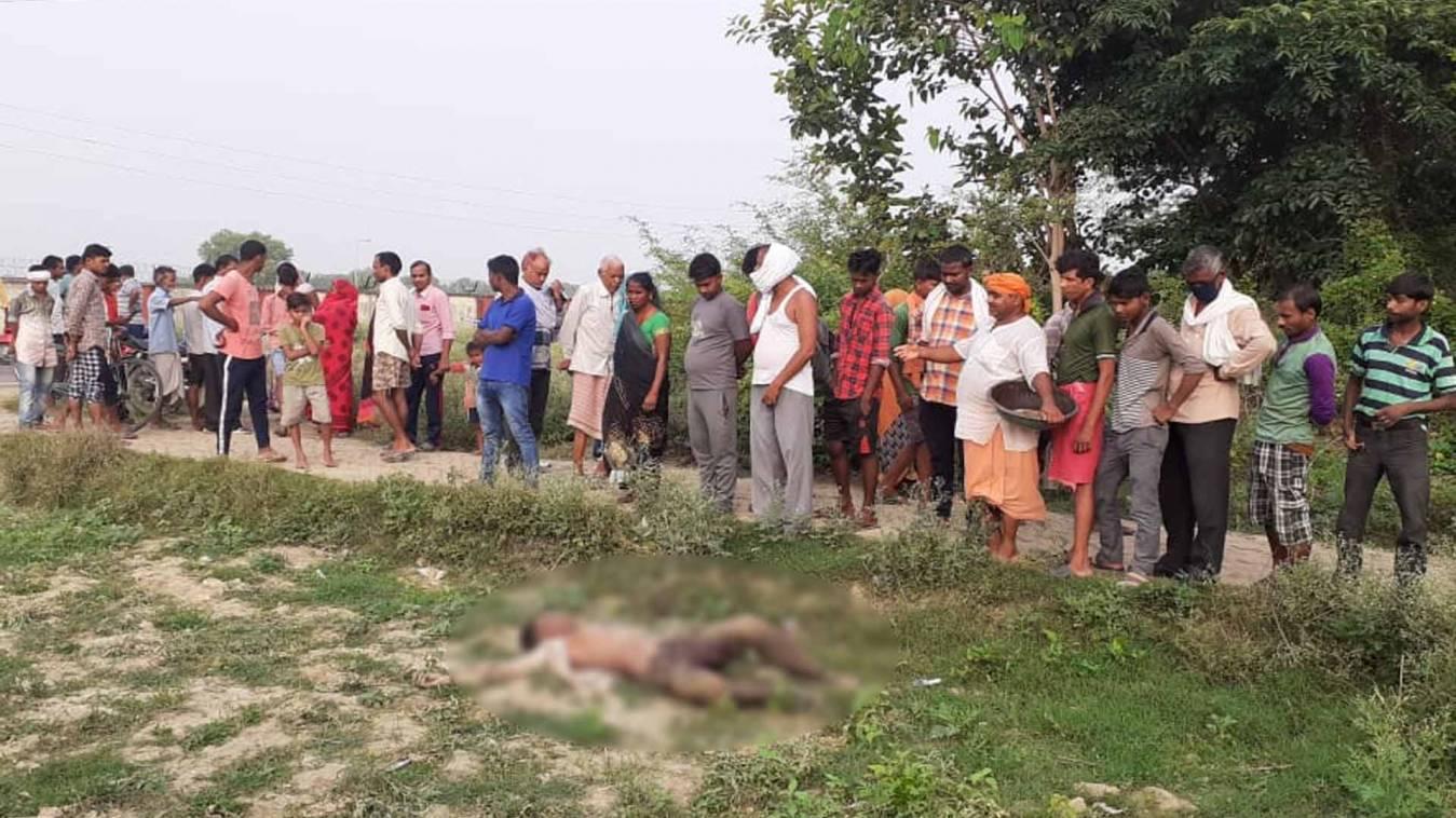 Breaking वाराणसी: बहन के घर गया भाई तो सड़क किनारे मिली लाश, जांच में जुटी पुलिस