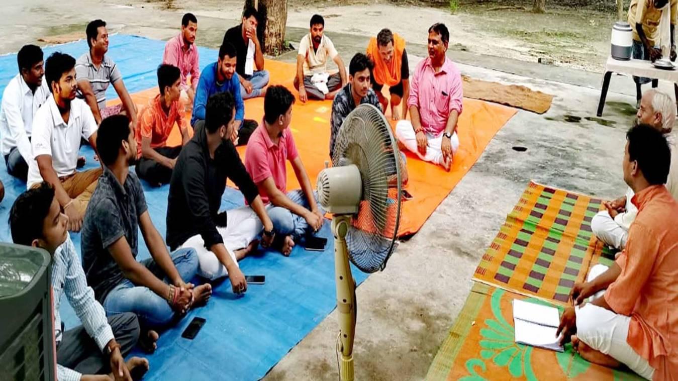 वाराणसी: हिन्दू जागरण मंच (काशी) की बैठक सम्पन्न, नई कार्यकारिणी के बिंदु पर किया गया विचार-विमर्श