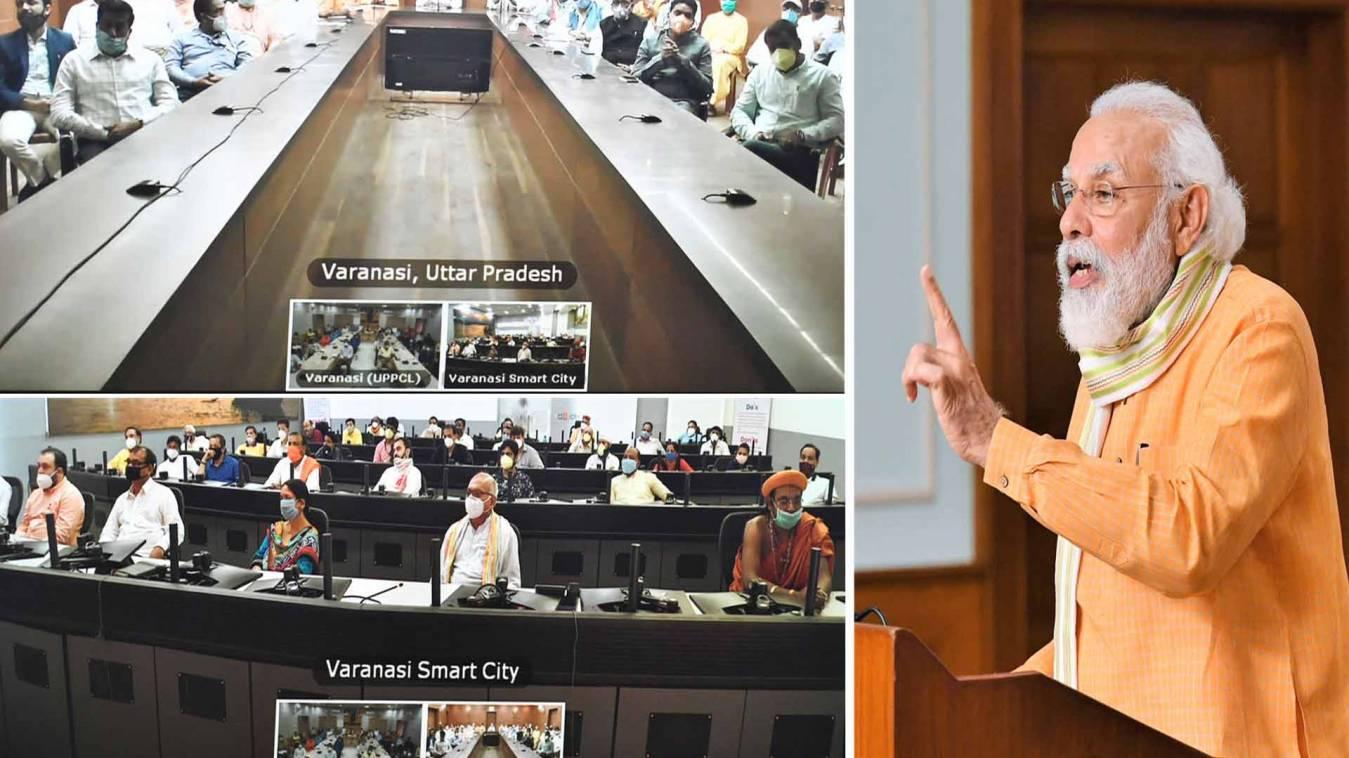 'मेरी काशी ने कोरोना का डटकर मुकाबला किया और आज बनारसियों की शक्ति को पूरा देश देख रहा': पीएम मोदी