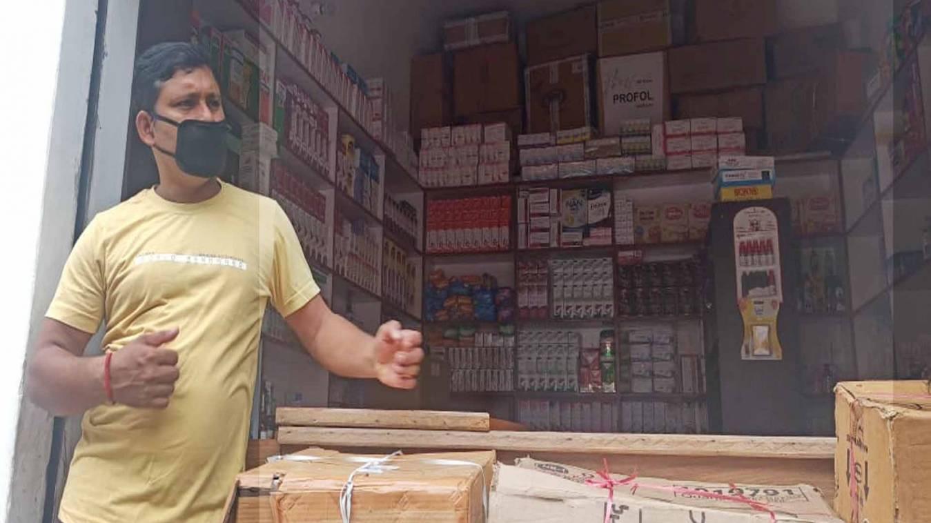 वाराणसी: मेडिकल के थोक विक्रेता की दुकान से हजारों की चोरी
