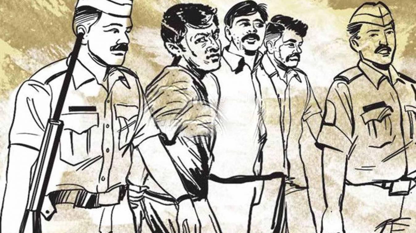 वाराणसी: छठी चोरी की बना रहे थे योजना, पुलिस ने छ: को पकड़ा