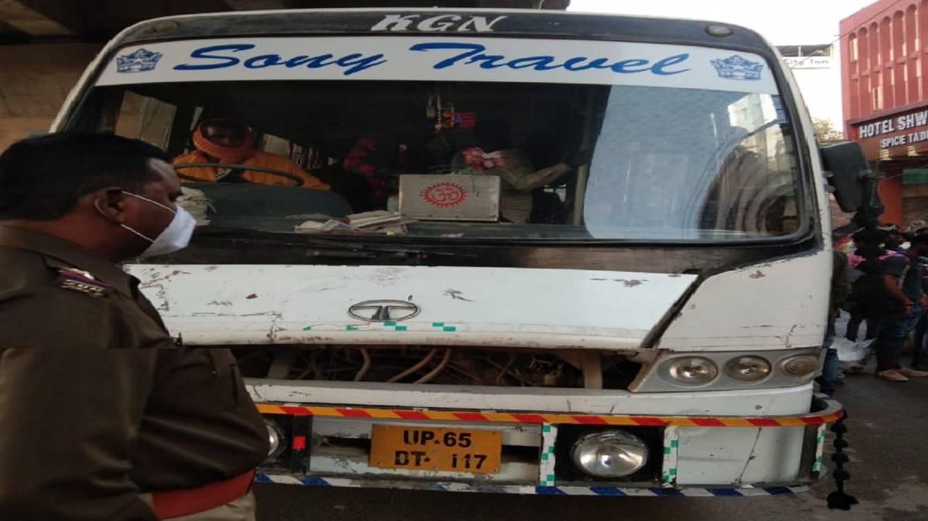 त्यौहारों के मद्देनज़र चला डग्गामार वाहनों पर बड़ा अभियान, दो बस सहित एक क्रूजर हुआ सीज