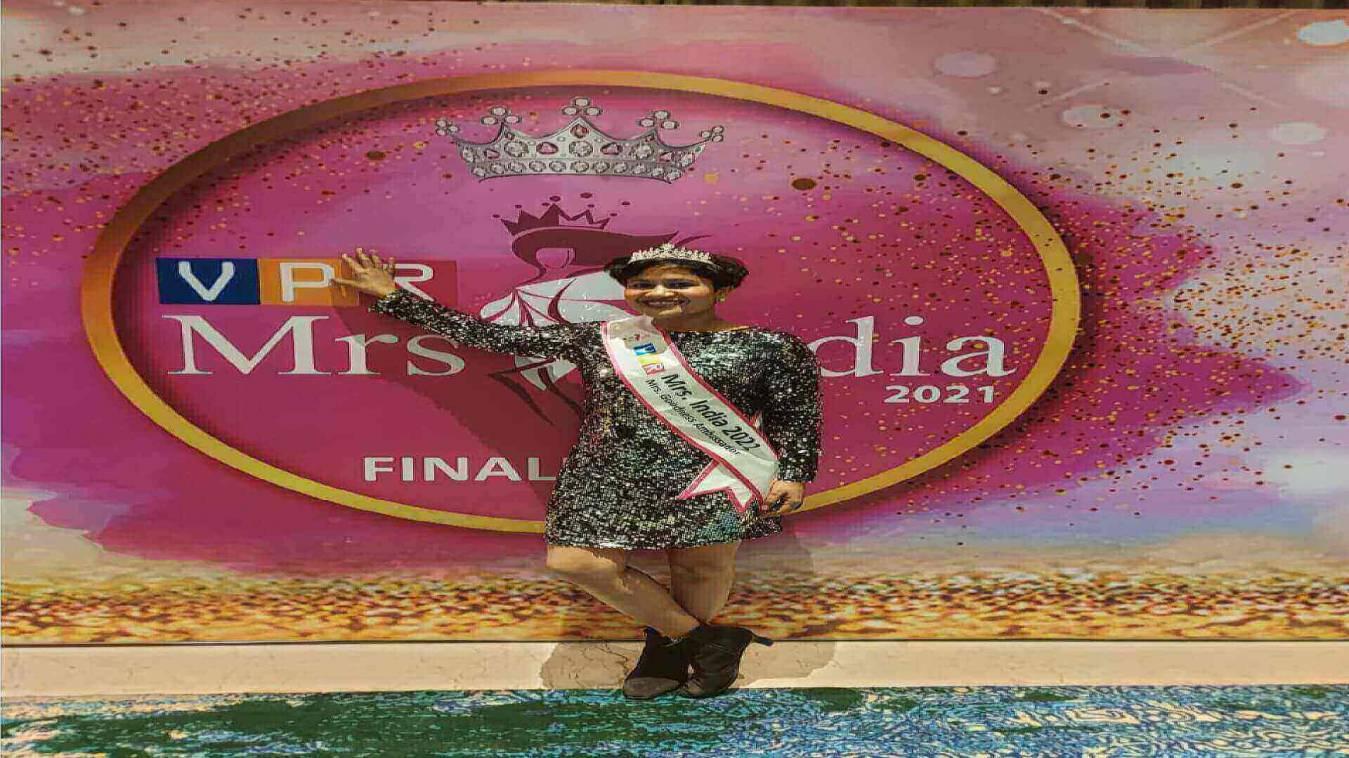 बीएचयू की प्रोफ़ेसर को मिसेज़ इंडिया 2021 के गुडनेस एम्बेसडर खिताब से नवाज़ा गया