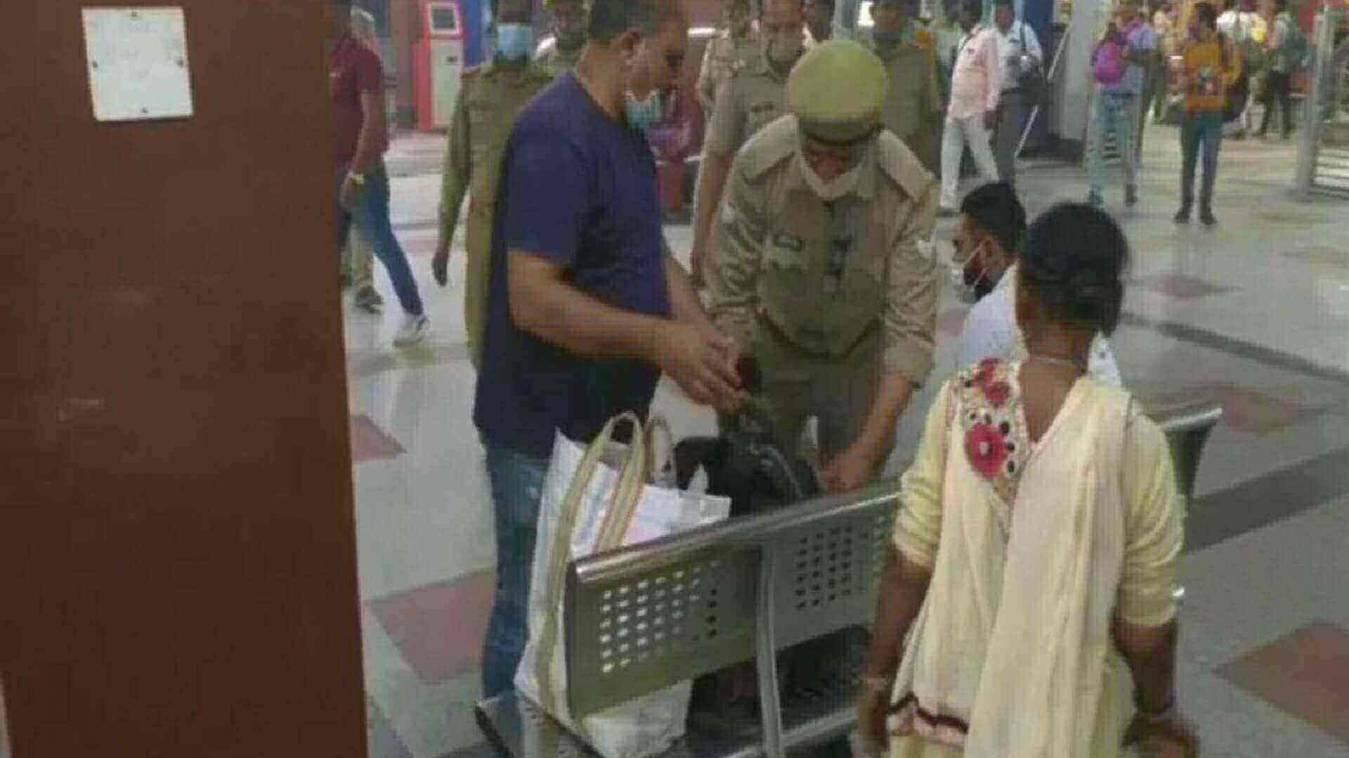 होली के पर्व को लेकर सुरक्षा व्यवस्था चुस्त-दुरुस्त , कैंट स्टेशन पर चला चेकिंग अभियान