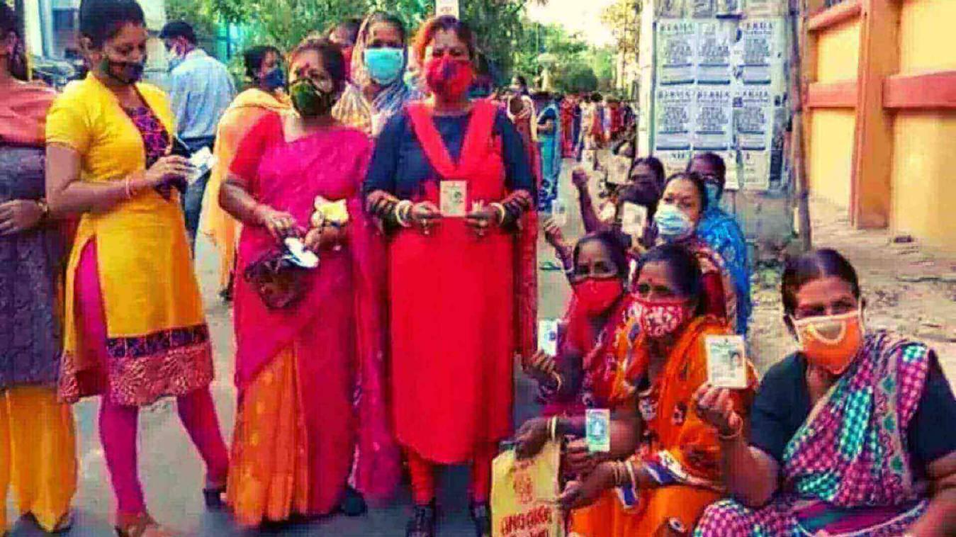 West Bengal Elections 2021: पांचवे चरण में आज 11 बजे तक 36% मतदान