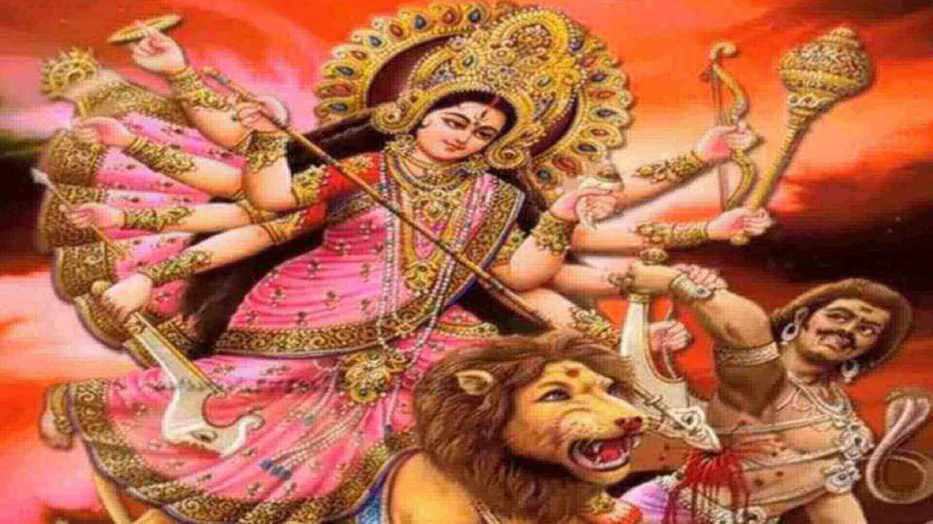 नवरात्रि में आठवें दिन माता महागौरी का पूजन-दर्शन