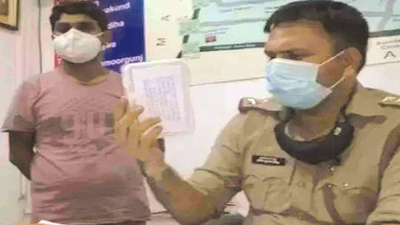 मुंह मांगी क़ीमत पर इंजेक्शन बेचते बीएचयू छात्र गिरफ्तार