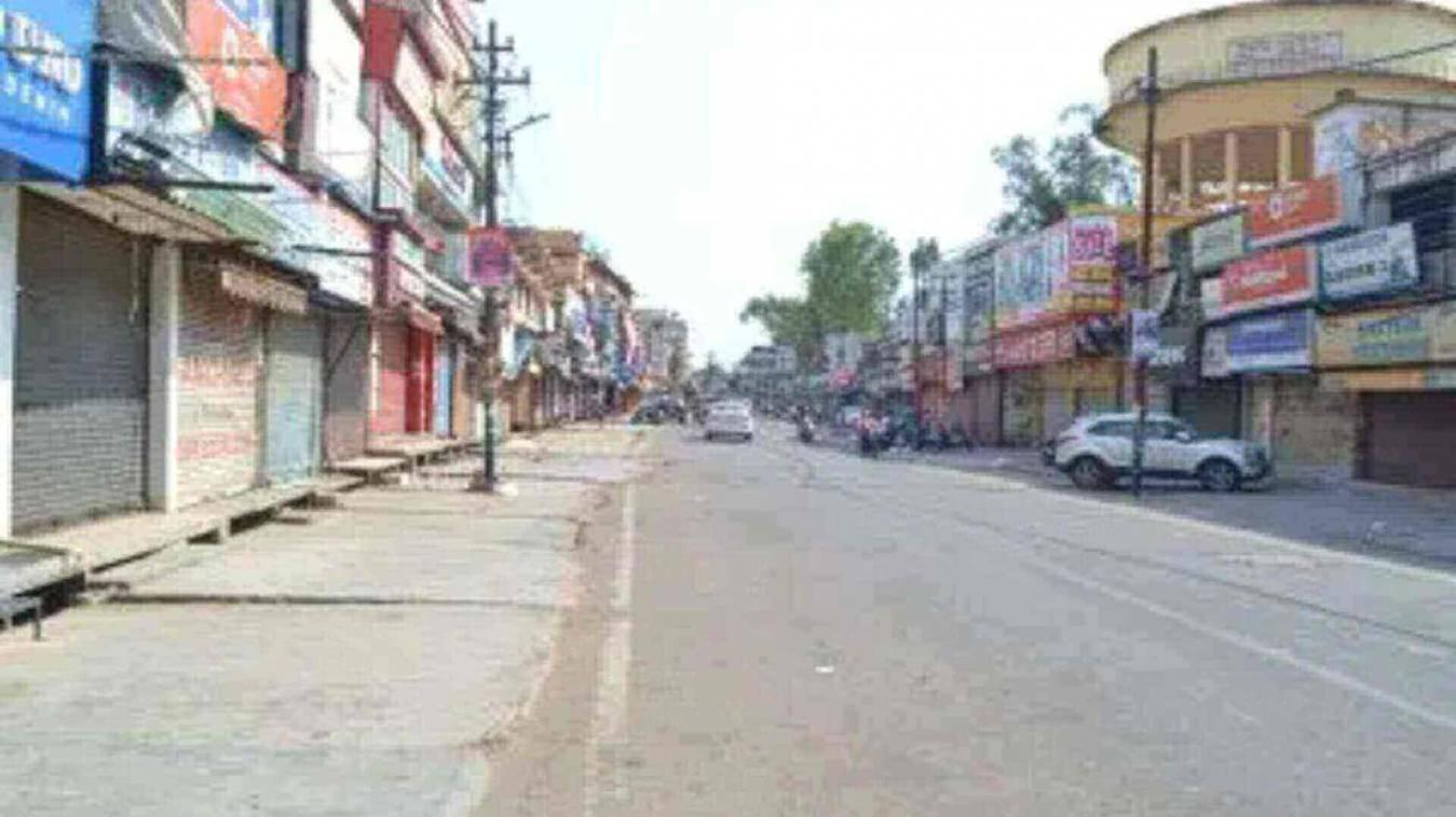 बाजार सुनसान, सड़कें-गलियां हुई वीरान