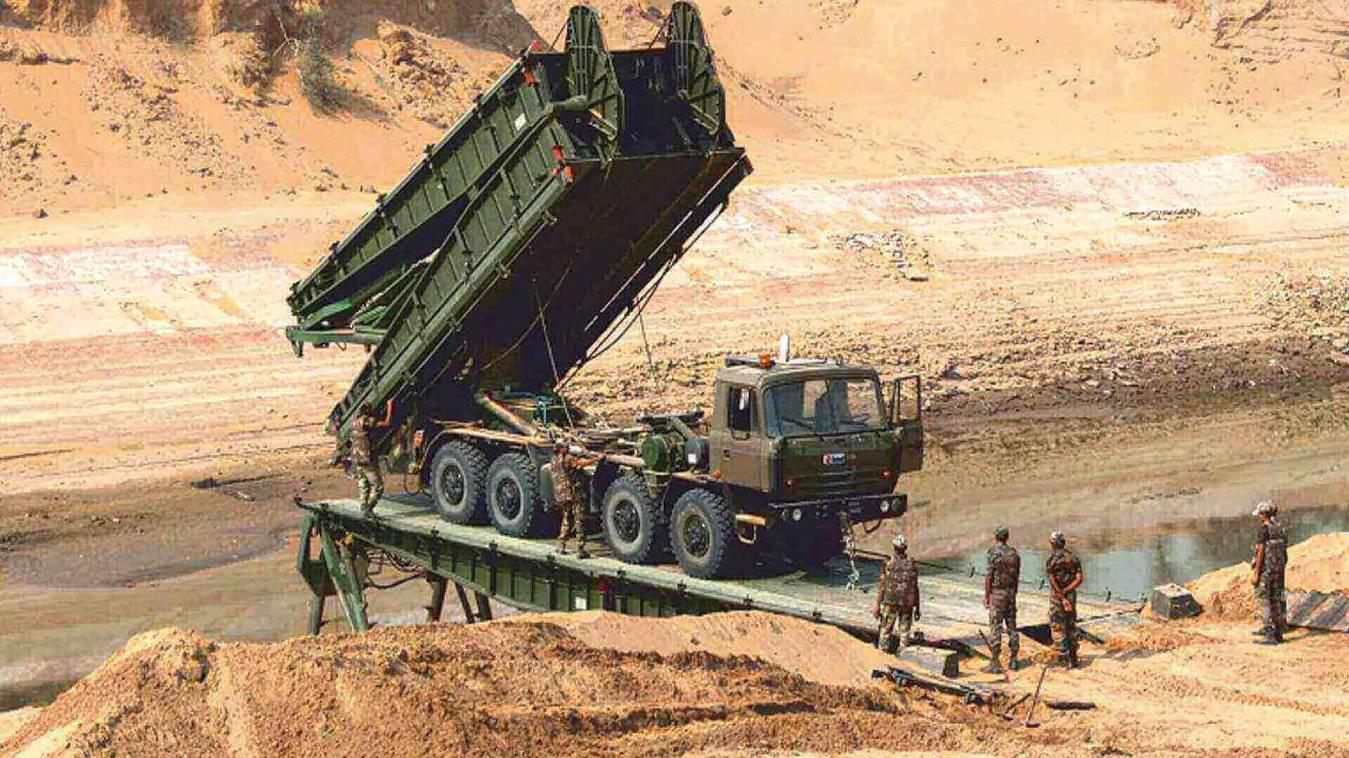 भारतीय सेना में 12 स्वदेशी ब्रिजिंग सिस्टम हुए शामिल
