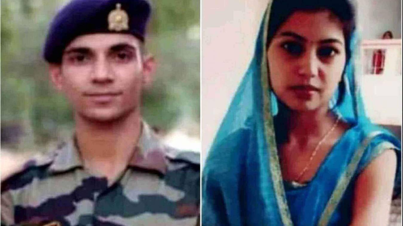 सैनिक पति की मौत के बाद पत्नी ने दी जान, फंदे से लटका मिला शव
