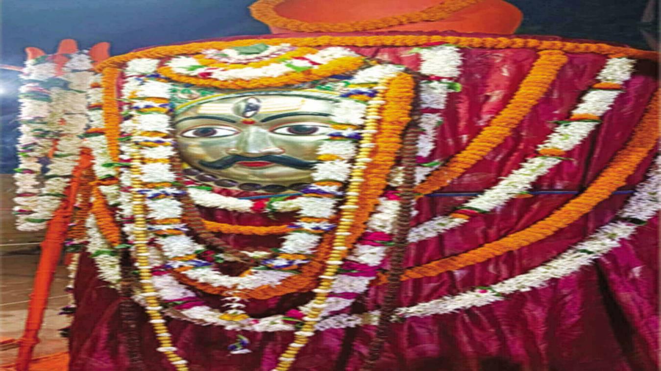 लाट भैरव तिलकोत्सव के साथ ही तीन दिवसीय कार्यक्रम का शुभारंभ