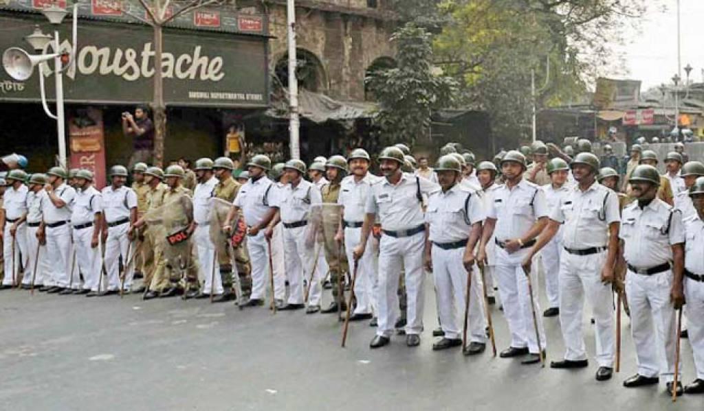 दिवाली पर कालीपूजा के दौरान की गई पांच हजार पुलिसकर्मियों की तैनाती