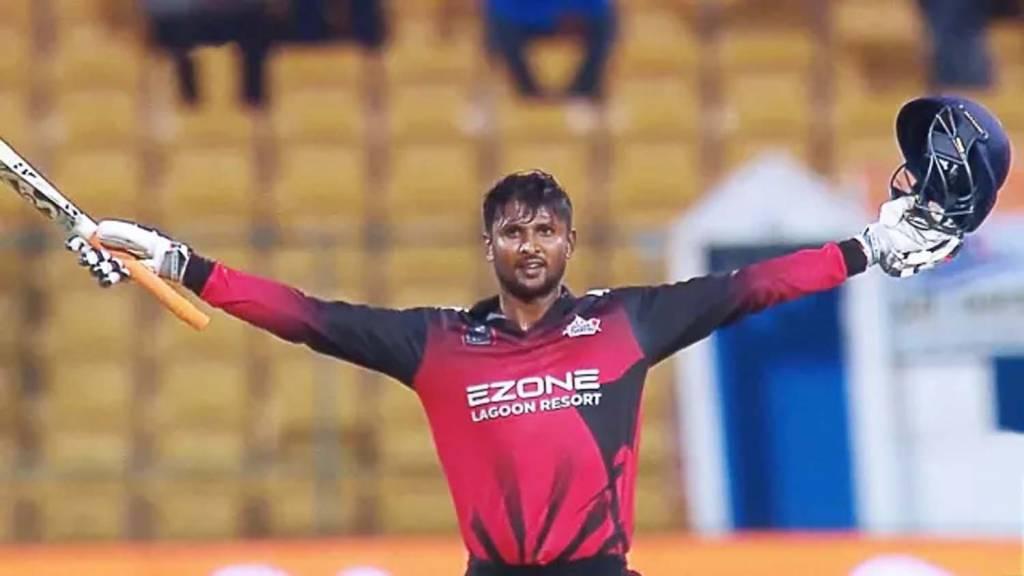 कृष्णप्पा गौतम का क्रिकेट मैदान पर कोहराम, एक ही ओवर में ठोक डाले 31 रन