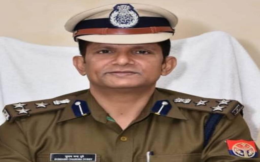 इंटरनेट मीडीया के लुटेरों  के हौसले बुलंद, आजमगढ़ के डीआईजी को बनाया निशाना