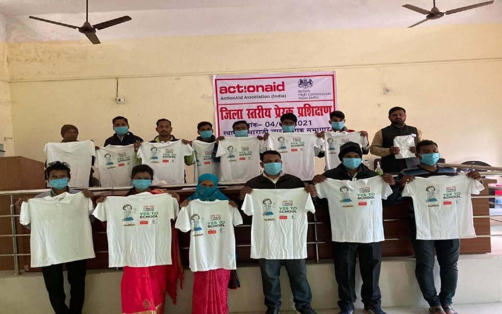 बाल श्रम उन्मूलन एवं मानव तस्करी की रोकथाम को लेकर ज़िला स्तरीय प्रशिक्षण का आयोजन