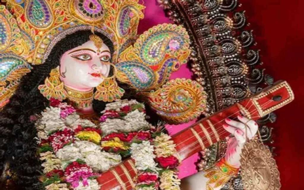 माँ सरस्वती  ने इस दिन प्रकट होकर धरती को किया था  प्रदान, अनुपन सौंदर्य